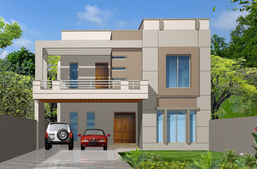 Unique homes your luxury dreams for Pakistani simple house designs