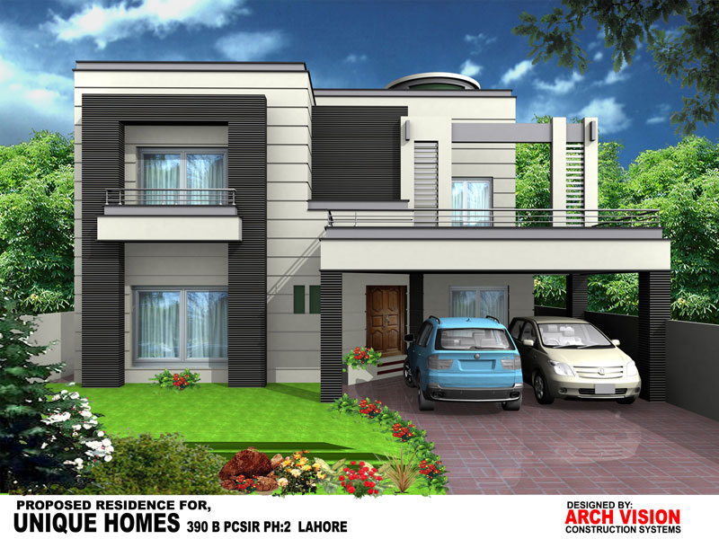 Front Elevation Of 10 Marla Houses In Lahore : Unique homes your luxury dreams